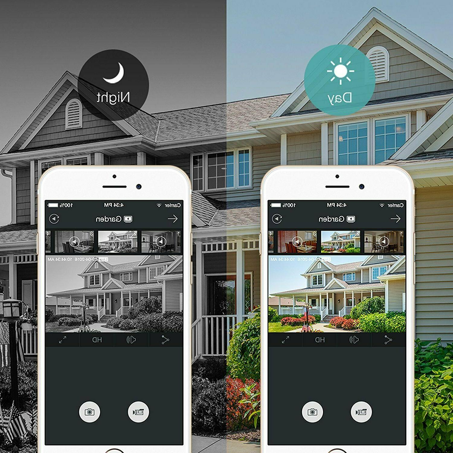 Funlux Wireless Security System Indoor 2 PACK