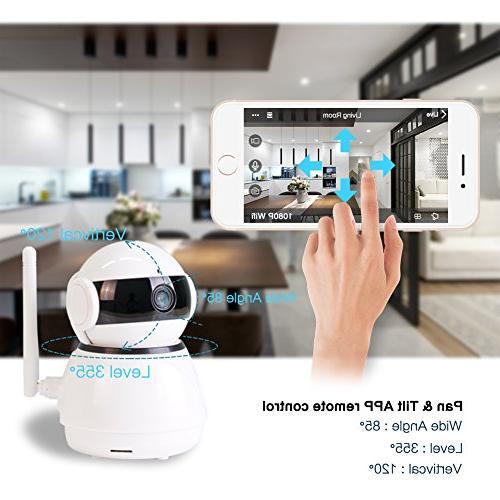 Wireless Security IP WiFi Camera Alexa Echo