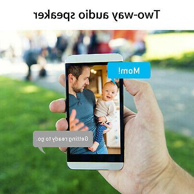 1080P Security Wireless CCTV IR Night Baby Monitor