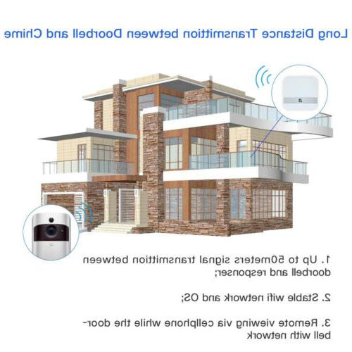 Wireless Smart DoorBell IR Video Intercom Home Kit