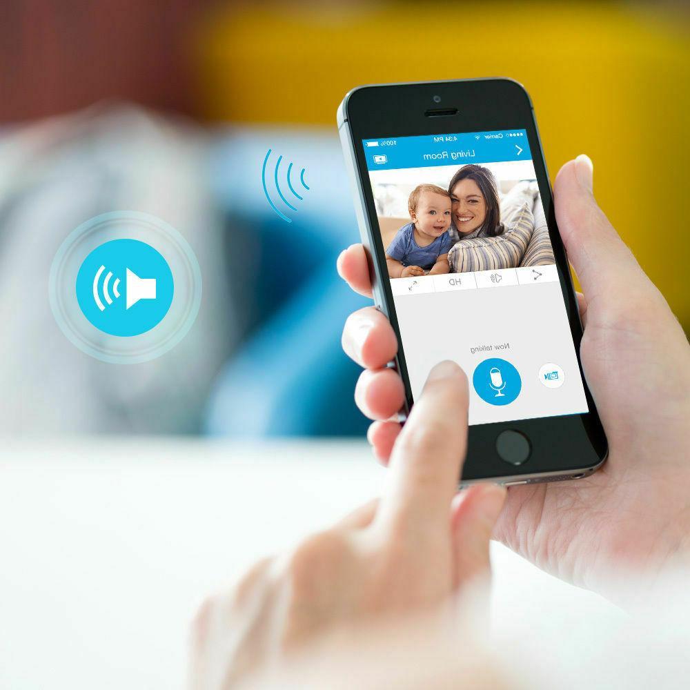 Zmodo Wireless Two-Way HD Camera IR