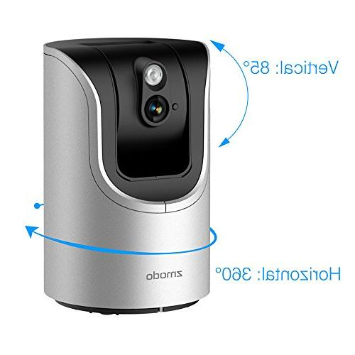 Zmodo HD 85° Security Two-Way SmartLink Remote