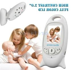 "LCD 2""/3.5""Wirless  Digital Video Baby Monitor Audio 2.4GHZ"