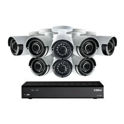 Lorex LHA21081TC8LC 8 Cameras 8 Channel 1080p DVR Video Secu