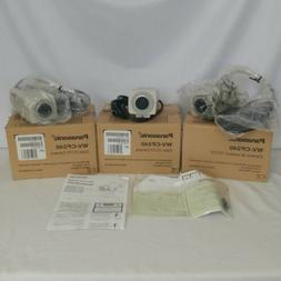 Lot of 3 Panasonic WV-CP240 CCTV Color Security Video Camera