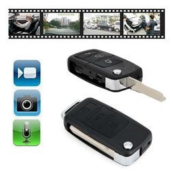 Mini Car Key Fob DVR Motion Detection Camera Hidden Spy Cam