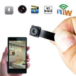 Mini HD Wireless WIFI IP Spy Camera Hidden DIY Module DV DVR