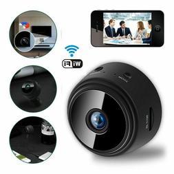 Mini Hidden Spy Camera Wireless HD 1080P Indoor Outdoor Home