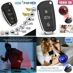 Mini Keychain Video Camera Spy Hidden Cam Night Vision Secur
