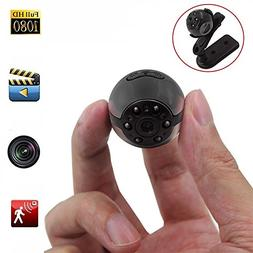 Mini Spy Hidden Camera, Heymoko 1080P/720P Full HD 6 LED Inf