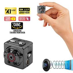 Mini Spy Hidden Wireless Camera with Audio Recorder 1080P -