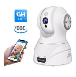 C2 ts-629 Turcom Camera Baby Monitor WiFi Motion Detection 2-Way Audio TS-629