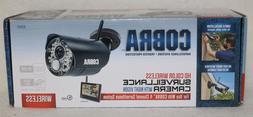 New Cobra 63843 Wireless Surveillance HD Security Camera wit