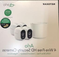 NEW Netgear Arlo Wire-Free Security System with 4 HD Cameras
