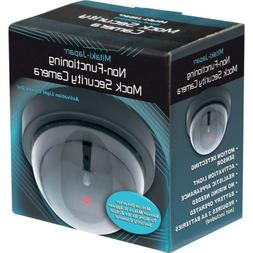 New Dummy Home SECURITY LED DOME CAMERA Flashing Light Fake