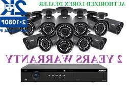 NEW Lorex IP Security Camera System 2K 4MP 3TB HDD 12 Camera