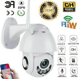 NEW Outdoor Waterproof WiFi 1080P HD Security IP IR Camera N