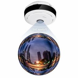 NEW WiFi Wireless IP Security Camera Wide Angle 360 Degree F