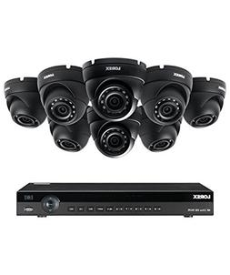 Lorex 8 channel NR9082 4K home security system with 8 weathe