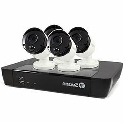Swann 8 Channel NVR with 2TB Hard Drive & 4X 4K Pir Cameras