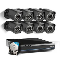 Zmodo 720p HD NVR Weatherproof Surveillance Video Security C