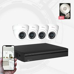 Dahua OEM Aivio 4CH Wired Security Surveillance System 4X 1