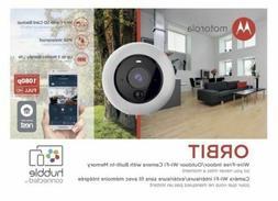 Motorola Orbit Wire-Free Indoor-Outdoor Wifi Camera With Bui