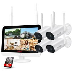 ANRAN Outdoor Wireless Security WiFi Camera System CCTV Full
