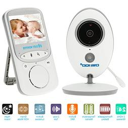 OWSOO 2.4GHz 2.4in Wireless LCD Baby Monitor + IR Camera Sup