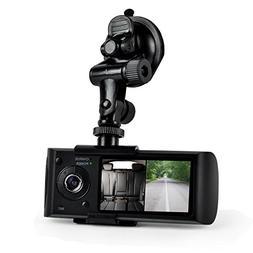 Pyle PLDVRCAMG36 Dual Camera Dash Cam System, DVR Driving HD