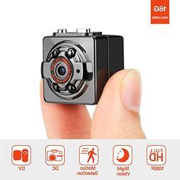 Pocket Hidden Spy Mini Camera – FITFORT HD 1080P 12MP Port