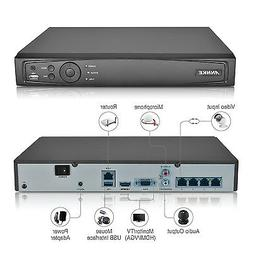 ANNKE 1080P 4CH Network Video Recorder Seucrity NVR Smart Se