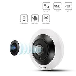 TMEZON IP Security Camera 5MP POE 3072x1728 Network Wi-Fi 36