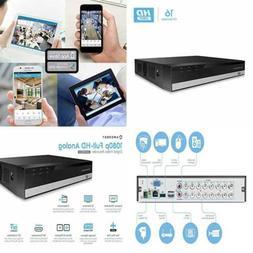 prohd 1080p 16ch video security dvr digital