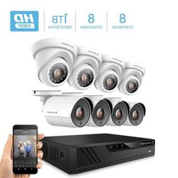 Amcrest ProHD 1080P 8CH Video Home Security Camera System