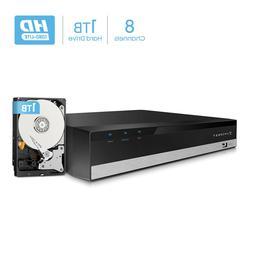 Amcrest 1080-Lite 8CH DVR Video Security Digital Recorder, H