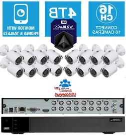 Q-See Security System 16 Cameras KIT QTH