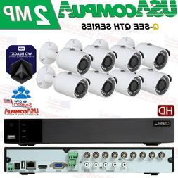 Q-See Security System 8 Channel KIT QTH