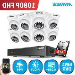 ANNKE H.264+ 3MP 8CH DVR HD 1080P Video Security IR Camera S