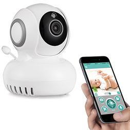 Rukerway Wifi Security Camera 1080P with Temperature Sensor,