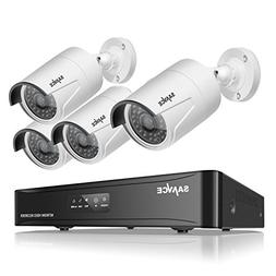 Sannce 4CH 1080P POE NVR Network Video Recorder and  2.0MP I