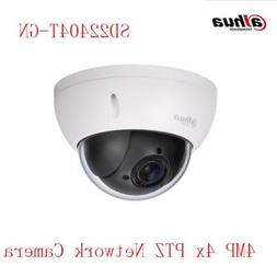 Dahua SD22404T-GN  PoE 4MP Dome IP camera IVS 4x PTZ Auto Fo