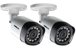 720p HD Security Cameras with Night Vision 2 Pack