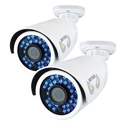Night Owl Security, 2 Pack Add–On Analog HD 1080p HD Wired