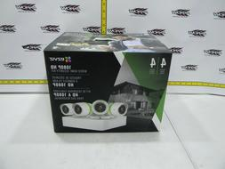 Security Camera System 4 Weatherproof 1080p HD Cams 4 Channe