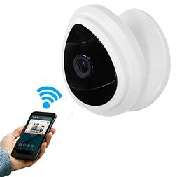 UOKOO Security Mini IP Camera, HD Home Surveillance Camera W