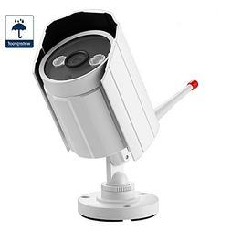 Security Camera, NexGadget Waterproof Wireless IP Camera, IR