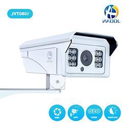 Security Camera, JOOAN 1080TVL CCTV Camera with Fixed 8mm Le