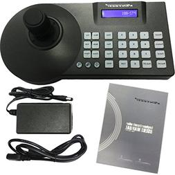 VENTECH LCD Security PTZ  Speed Dome Camera 3D Keyboard Cont