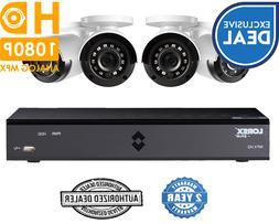 Lorex Security SURVEILLANCE 4 Channel 1080p HD DVR 1TB 1080p